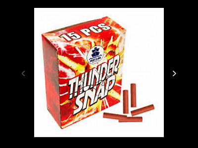 3 boxes of Thunder snaps