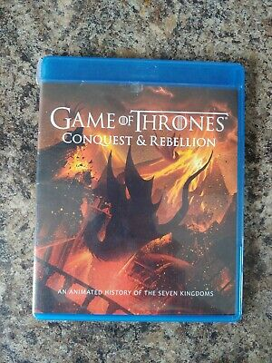 Game of Thrones Season 7 Conquest & Rebellion Animation Blu Ray