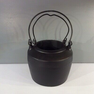 Vintage Kenrick 2 Pint Cast Iron Glue Pot And Liner