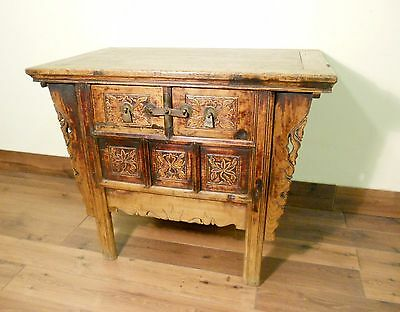 """Antique Chinese """"Butterfly"""" Coffer (5625), Circa 1800-1849"""