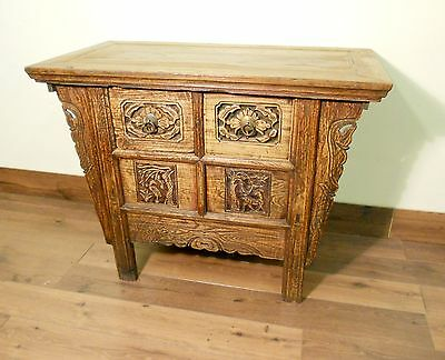 """Antique Chinese """"Butterfly"""" Coffer (5535), Circa 1800-1849"""
