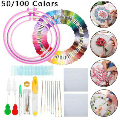 Embroidery thread Embroide Pen Knitting Sewing Tool Punch Needle Portable
