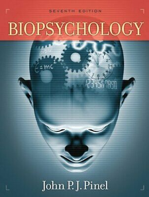 Biopsychology: United States Edition by Pinel, John P.J. Hardback Book The Cheap