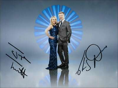 Jayne Torvill And Christopher Dean *Ice Skating Champions* Hand Signed 8X6 Photo