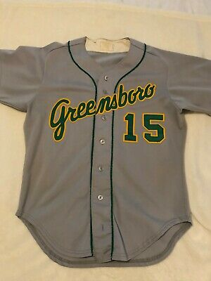Early 80s Greensboro Hornets Minor League Game Worn Road Jersey #15 NNOB size 42