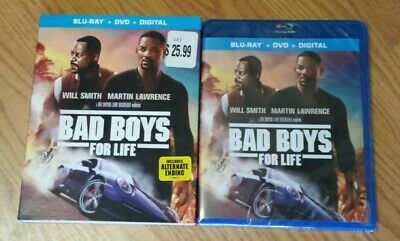 Bad Boys For Life (Blu-Ray+Dvd+Digital) New* W/Slipcover Free Shipping!!!
