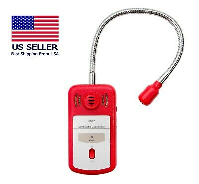 Combustible Gas Detector 8800A   Portable Gas Leak Sniffer   CE & RoHS Certified