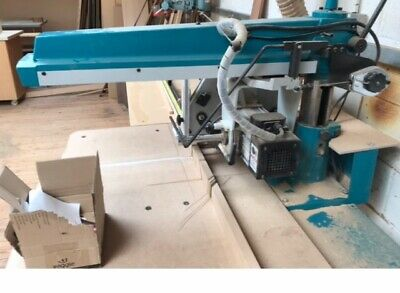 I TECH RAS350 3 Phase RADIAL ARM SAW Had Very Little Use So In Excellent Coditio