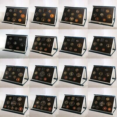 Royal Mint Proof Coin Sets - Blue Case - 1983 - 1999 Birthday Anniversary Gift