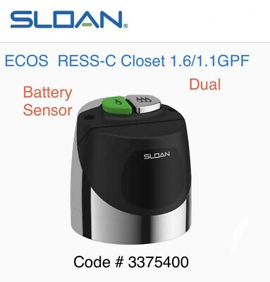SLOAN ECOS RESS-C Flush Valve Water Closet Battery Sensor Retrofit Kit 3375400