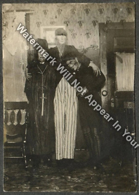 H2 Halloween Costume Creepy Odd Weird Strange Adult Children Vintage Reprint Pic