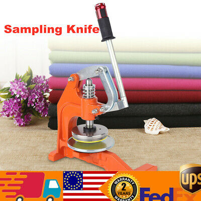Round Sample Cutter Pressure Type Sampling Knife Circle  Sample Cutter For Cloth
