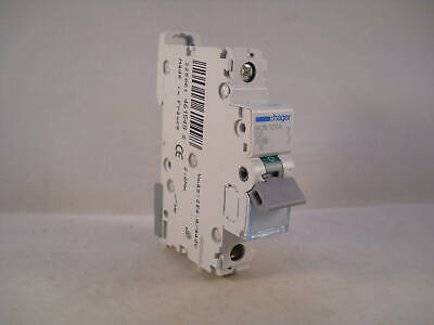 Hager MCB 6 Amp Single Pole Circuit Breaker Type C 6A C6 NCN106A
