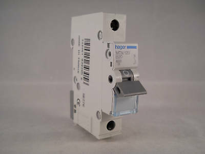 Hager MCB 20 Amp Single Pole Circuit Breaker Type B 20A B20 MTN120