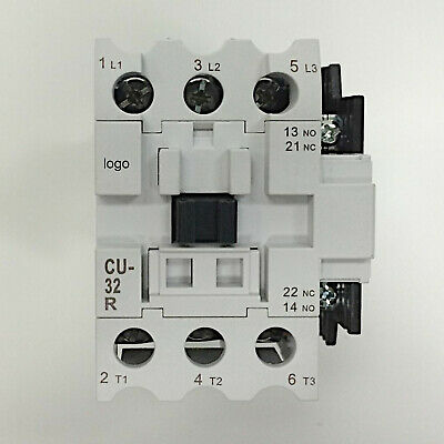 110V Coil 3A2a2b 3 Phase TECO CU-65R Magnetic Contactor 100 Amp