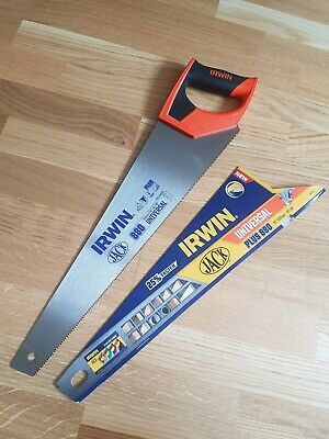 "*COLLECTION ONLY* Irwin Jack 10505212 880 Plus Universal Hand Saw 20""/500mm 8tpi"