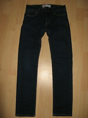 Worn Once Boys Dark Blue Levis 510 Skinny Stretch Fashion Jeans Age 12-13-14