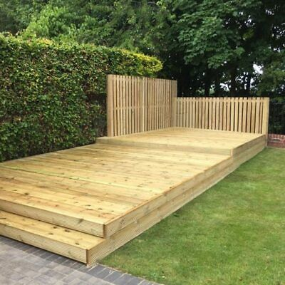 **SALE** 4.8m x 3.6m Tanalised Decking Kit First Grade Non Reject Materials