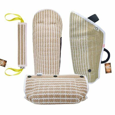Dog Training Sleeve Bite Jute Tugs for Arm Protection Outdoor Training