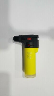 Eagle Jet Neon Torch Lighter Adjustable Flame Windproof Butane Refillable YELLOW
