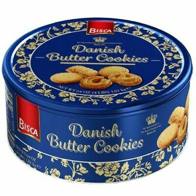 Bisca Danish Butter Cookies, 64 oz. 4 Lb