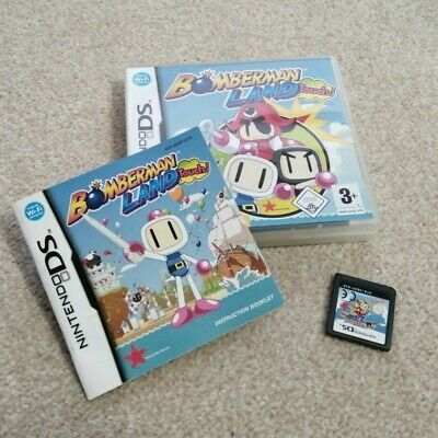 Nintendo DS Bomberman Land Touch Game - Boxed