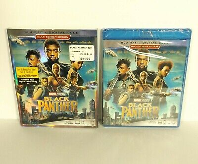 Black Panther (Blu-ray disc, 2018, Digital, Canadian) Marvel NEW FACTORY SEALED