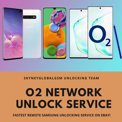 Network Unlock Service For O2 Uk Samsung Phones S8 S7 S6 S5 Note All O2 Models