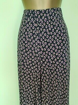 "Ladies Women/'s /_Floral Palazzo Trousers/_Wide Leg/_UK 18/_by /""in the style/"" B//new"