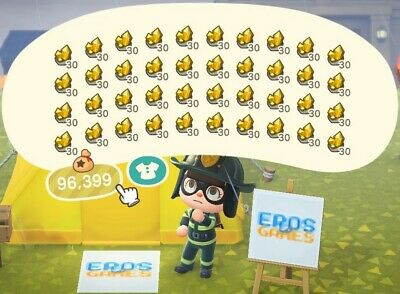 300 Gold Nuggets - Animal Crossing New Horizons