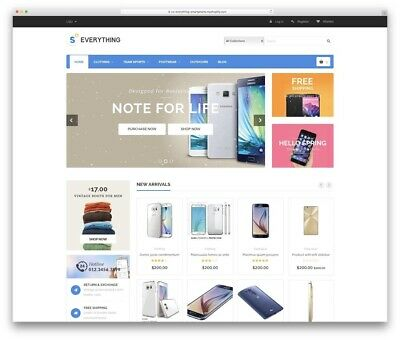 5 Shopify Themes Premium Everything Best Intstant Delivery