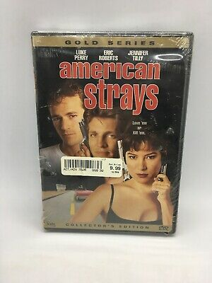 American Strays (NEW SEALED DVD 1996) Luke Perry, Eric Roberts, Jennifer Tilly