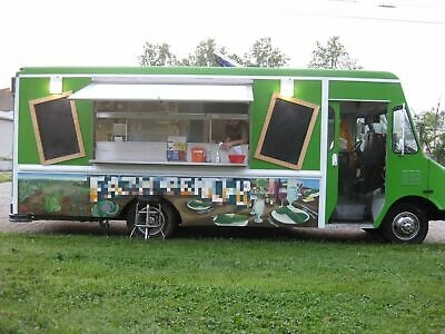 Ready to Go GMC Step Van Food Truck / Used Beautiful Kitchen on Wheels for Sale