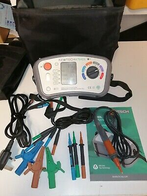 Kewtech kt64DL 17th Edition Multifunction Tester