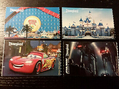 Disneyland CA Adventure Park Hopper Passes tickets Good thru Feb 2022 FREE SHIP