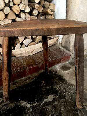 Original Antique Milking Stool