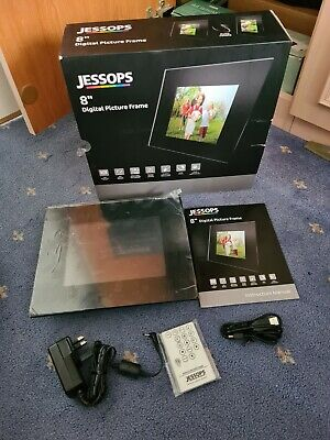 "Jessops 8"" Digital Picture Frame Boxed"