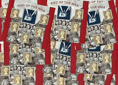 900 x 1st Class Stamps Cheap Discounted Postage Stamps - Free Postage - VE Day