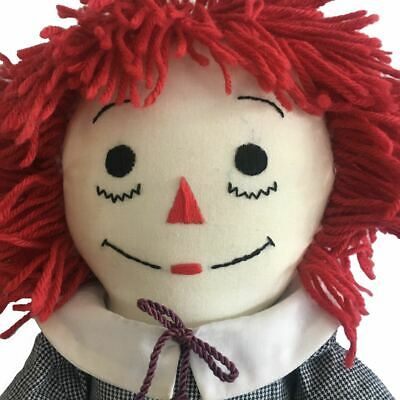 """24"""" Raggedy Andy Large Artisan Fashioned Handmade Excellent Condition"""