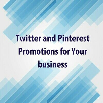 PROMOTE business / website traffic marketing 125 TWEETS & PINS social media