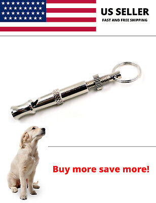 Dog Training Whistle Long Distance Metal Stop Barking Pet Ultrasonic Puppy