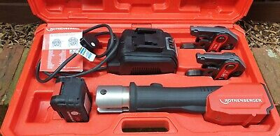 Rothenberger Pressing Tool + 2 Jaws