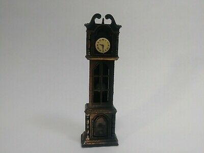 Vintage Die-Cast Minature Furnature Replica Grandfather Clock Pencil Sharpener