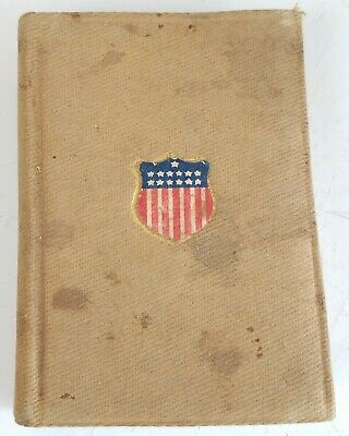 New Testament WW1 Soldiers Military Pocket Bible Star spangle banner battle hymn