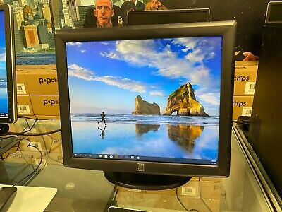 """ELO ET1715L-8CWB-1-GY-G E719160 17"""" Touch Screen Monitor Display, w/ Stand"""