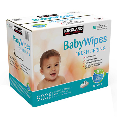 Kirkland Signature Scented Baby Wipes 900-count