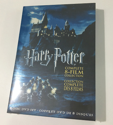 Harry Potter: Complete 8 Film (DVD, 2011, 8-Disc, Set) Collection NEW SEALED