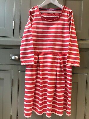 BNWOT Mini Boden Johnnie B Girls cotton jersey dress age 13-14 excellent cond