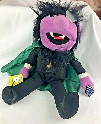 Vintage THE COUNT Plush Toy Dracula Sesame Street - by Applause with Tags