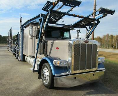 2013 Peterbilt 388 Car Carrier w/ 2014 Cottrell NextGen CX-11HCS
